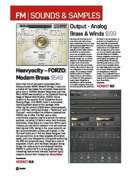 Output - Analog Brass & Winds
