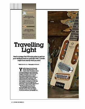 Traveler Guitar Ultra-Light Electric
