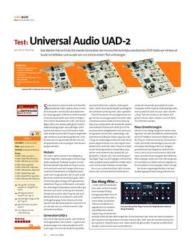 Test: Universal Audio UAD-2