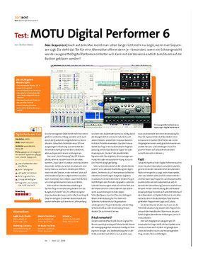 Test: MOTU Digital Performer 6