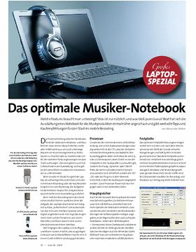 Das optimale Musiker-Notebook