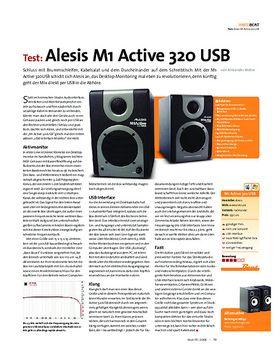 Test: Alesis M1 Active 320 USB