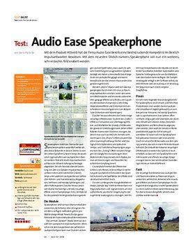 Test: Audio Ease Speakerphone