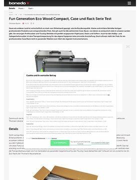 Fun Generation Eco Wood Compact, Case und Rack Serie