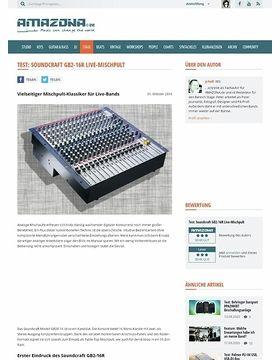 Test: Soundcraft GB2R 16 Kanal Mischpult
