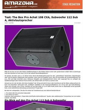 Test: The Box Pro Achat Entertainment Active Set