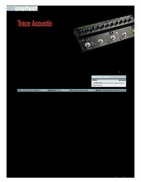 Trace Acoustic Transit A - test uit Gitarist 326