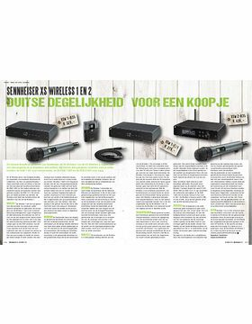 Sennheiser XS Wireless 1 en 2