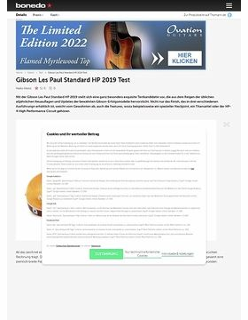 Gibson Les Paul Standard HP 2019