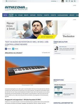 M-Audio Keystation 61 MK3, 49 MK3