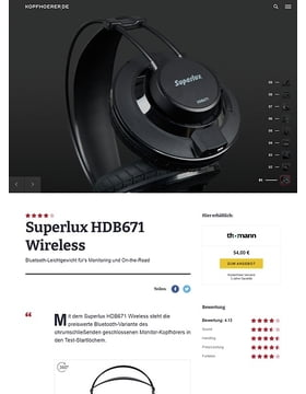 Superlux HDB-671 Black