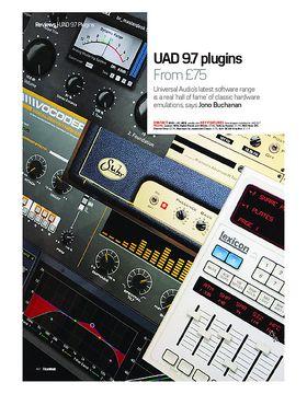 UAD 9.7 plugins