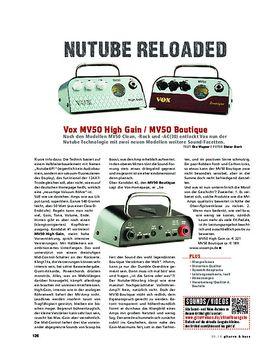 Vox MV50 High Gain + MV50 Boutique