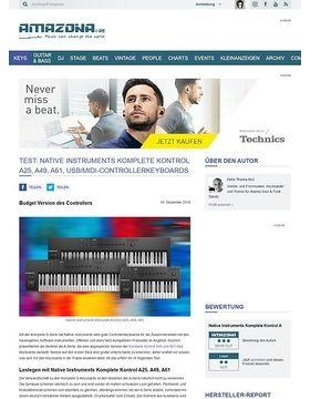 Native Instruments Komplete Kontrol A25, A49, A61
