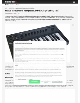 Native Instruments Komplete Kontrol A25 (A-Series)