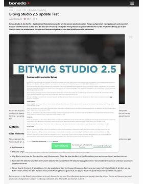 Bitwig Studio 2.5 Update