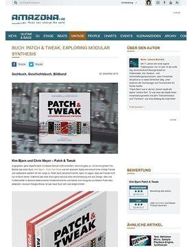 Buch: Patch & Tweak, Exploring Modular Synthesis