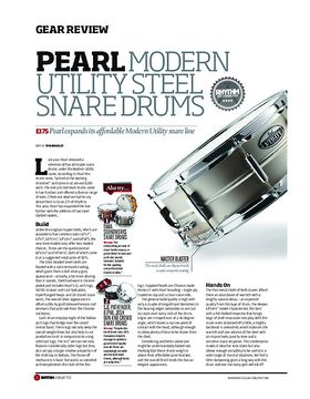 Pearl Modern Utility Snare Drums