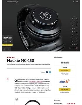 Mackie MC-150