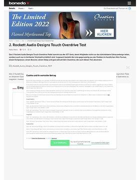 J. Rockett Audio Designs Touch Overdrive