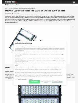 Stairville LED Power-Flood Pro 100W 6K und Pro 200W 6K