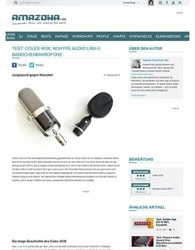 Coles 4038, Nohype Audio LRM-V