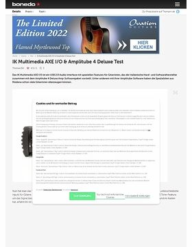 IK Multimedia AXE I/O & Amplitube 4 Deluxe