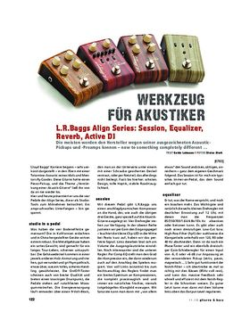 L.R.Baggs Align Series: Session, Equalizer, Reverb, Active DI