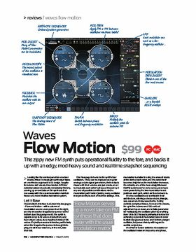 Waves Flow Motion