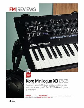 Korg Minilogue XD