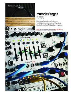 Mutable Stages