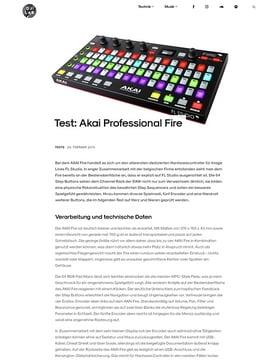 Akai Professional Fire