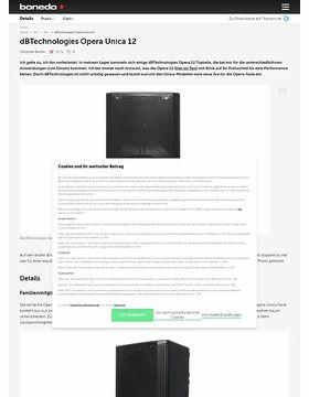 dBTechnologies Opera Unica 12