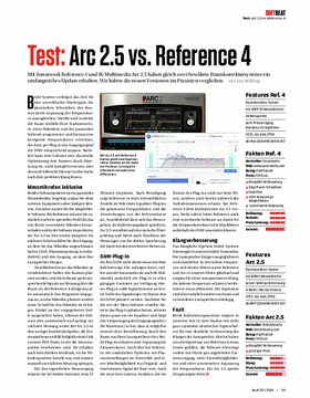 Arc 2.5 vs. Reference 4