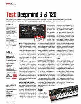 Behringer Deepmind 6 & 12D