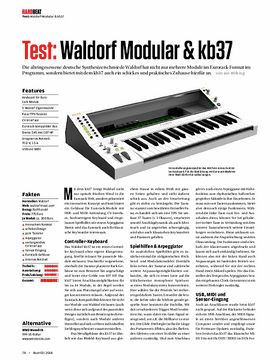 Waldorf Modular & kb37