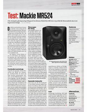Mackie MR524