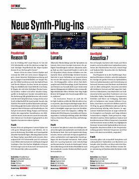 Neue Synth-Plug-Ins