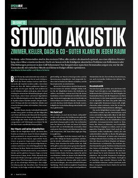 Studio Akustik: Zimmer, Keller, Dach & co - Guter Klang in jedem Raum