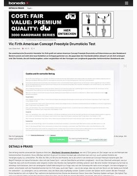 Vic Firth American Concept Freestyle Drumsticks