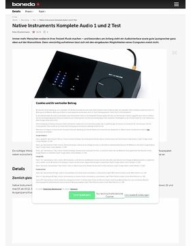 Native Instruments Komplete Audio 1 und 2