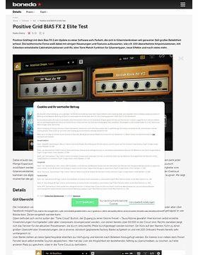 Positive Grid BIAS FX 2 Elite