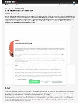 Kala Journeyman U-Bass