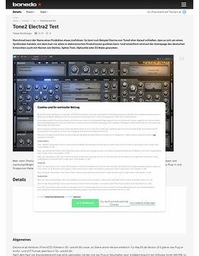 Tone2 Electra2 – Musikhaus Thomann