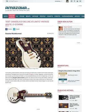 DAngelico Deluxe Atlantic Vintage White