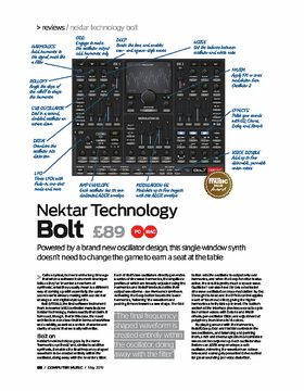 Nektar Technology Bolt