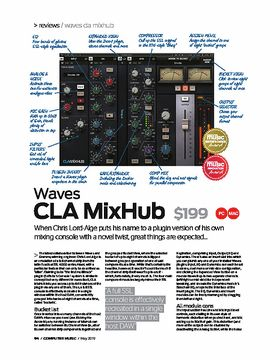 Waves CLA Mixhub
