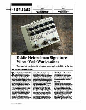 Eddie Heinzelman Signature Verb o Trem Workstation