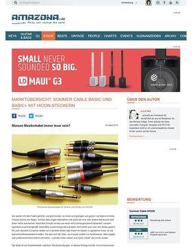 Sommer Cable Basic und Basic+