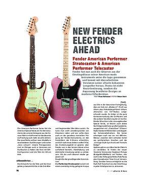 Fender American Performer Stratocaster & American Performer Telecaster